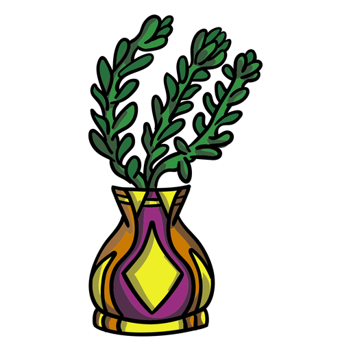 Succulent plant pot vase Transparent PNG