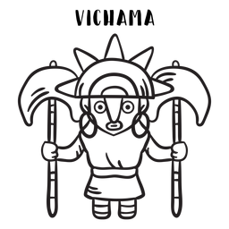 Vichama inca mtyhology outline