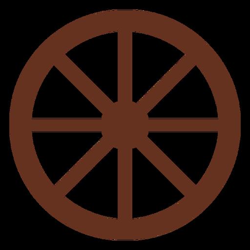 Icono de corte de rueda de carro Transparent PNG