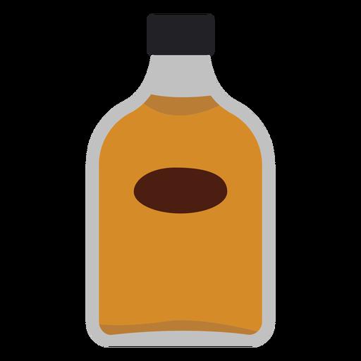 Icono de botella de whisky Transparent PNG