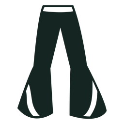 70s bell bottoms silhouette