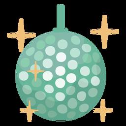 70s disco ball flat