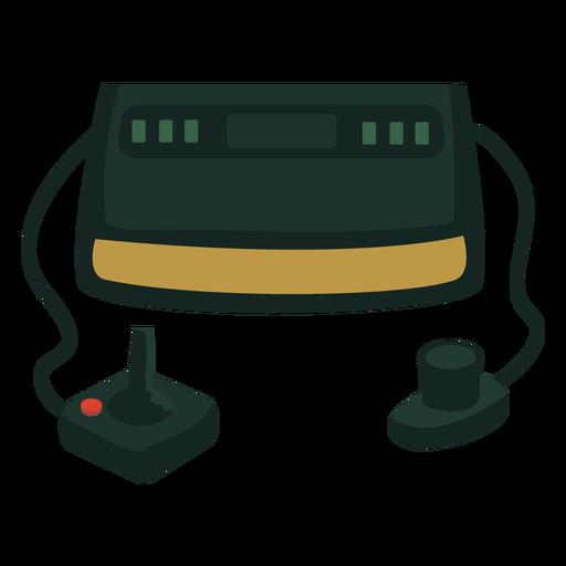 Consola de juegos de los 70 plana Transparent PNG