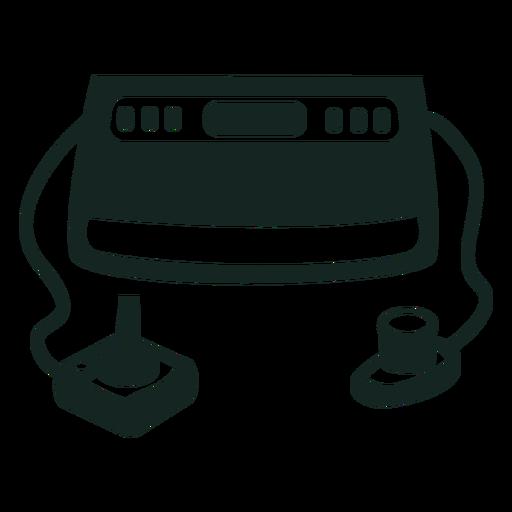 Curso do console de jogos dos anos 70 Transparent PNG