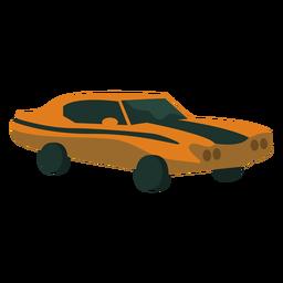 Piso de coche antiguo de los 70