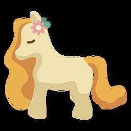 Pony plano de los 70