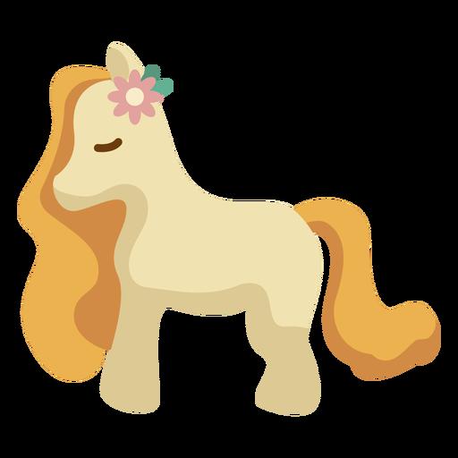 Pony plano de los 70 Transparent PNG
