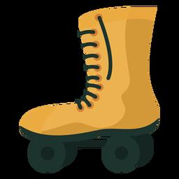 70s roller skates flat