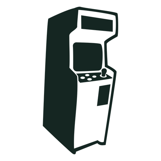 70s video game machine stroke Transparent PNG