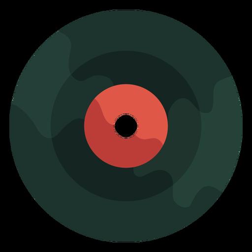 Disco de vinilo de los 70 Transparent PNG