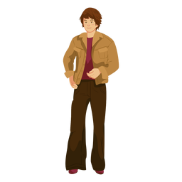 70s character man outfit