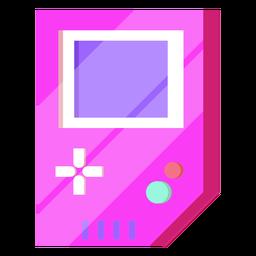 80er Jahre 8 Bit Gameboy bunt