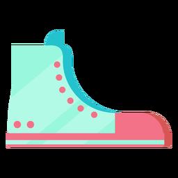 Sapata da estrela dos anos 80 colorida