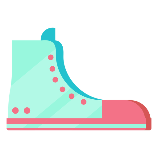 Zapato All Star 80s colorido Transparent PNG