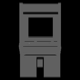 Máquina de arcade dos anos 80
