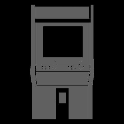 Máquina de arcade dos anos 80 Transparent PNG