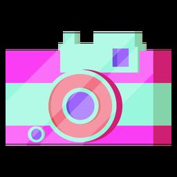 Câmera dos anos 80 colorida