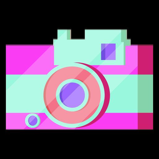 Câmera dos anos 80 colorida Transparent PNG