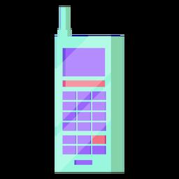 80s celular colorido
