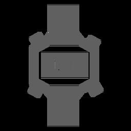 Relógio digital dos anos 80