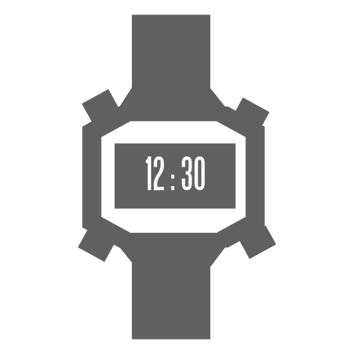Reloj digital de los 80 Transparent PNG
