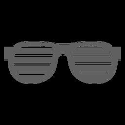 Ranura para gafas de los 80