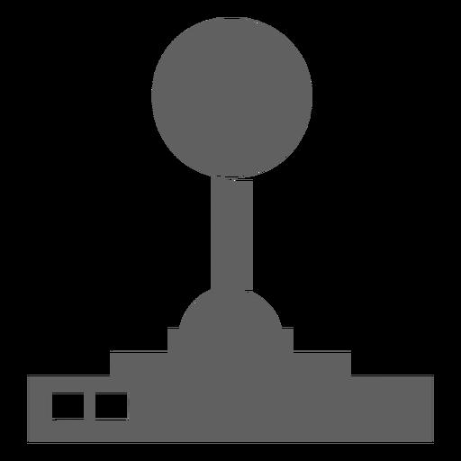 Controlador de joystick de los 80 Transparent PNG