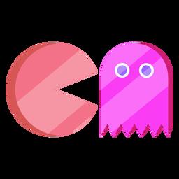 Pacman dos anos 80 colorido