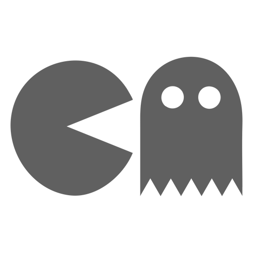 80s pacman video game Transparent PNG