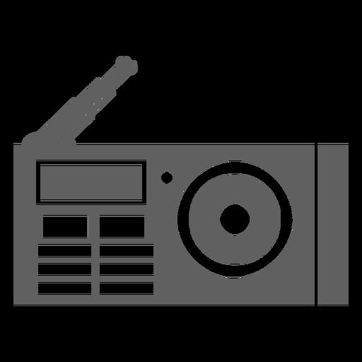 80s radio player antenna