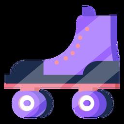80s roller skates colorful