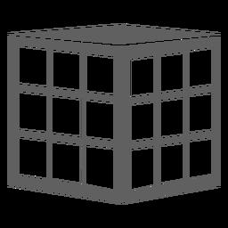 Cubo de rubik dos anos 80