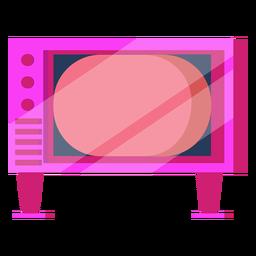 Televisão dos anos 80 colorida