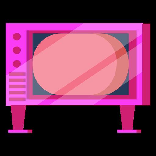 Televisão dos anos 80 colorida Transparent PNG