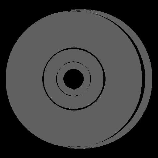 80s vinyl record Transparent PNG