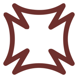 African symbol home house stroke