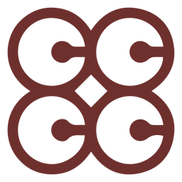 African symbol marriage sign stroke