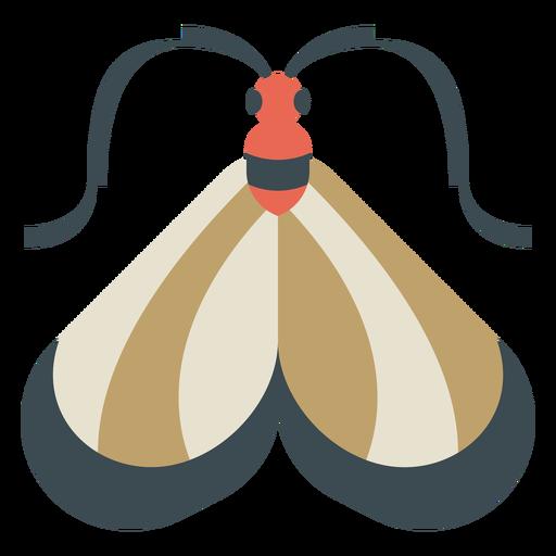 Colorful moth geometric flat Transparent PNG