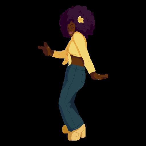 Disco move 70s personaje
