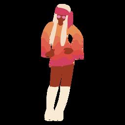 Minivestido disco outfit flat
