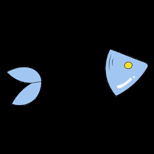 Ilustración de espina de pescado Transparent PNG