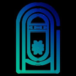 Jukebox-Gradientenstrich