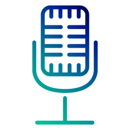 Trazo de gradiente de micrófono