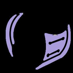 Icono de instrumento de bombo musical