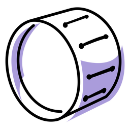 Musik Bass Drum-Instrument-Symbol