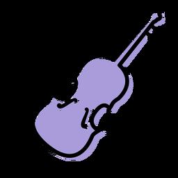 Ícone do instrumento de violoncelo de música