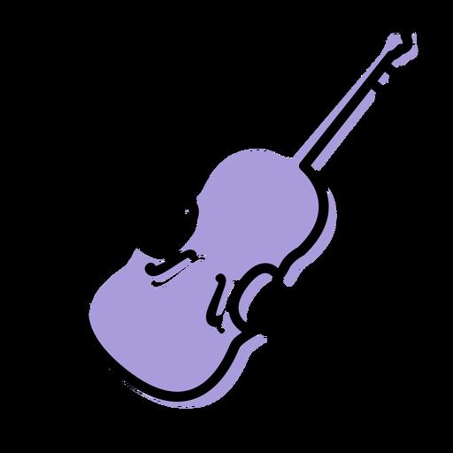 Icono de instrumento de violonchelo de música