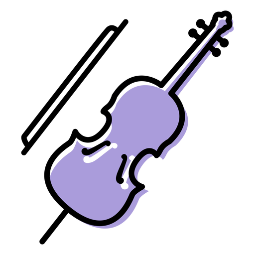 Music cello instrument icon Transparent PNG