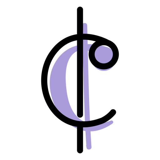 Music cut time icon Transparent PNG