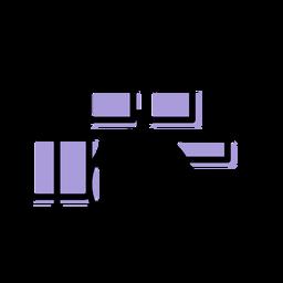 Icono de batería musical